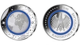 planet earth; german coin 2016; Coty Awards; world money Fair berlin 2018