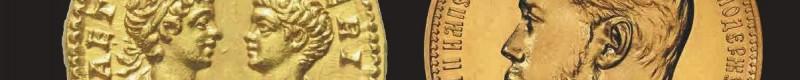 Asta Gadoury 2020: monete d'oro da tutti i paesi e di tutte le epoche